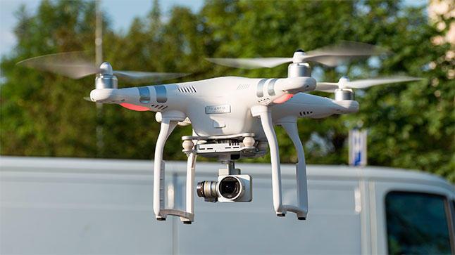 Drones aún están a prueba pero sí están funcionando