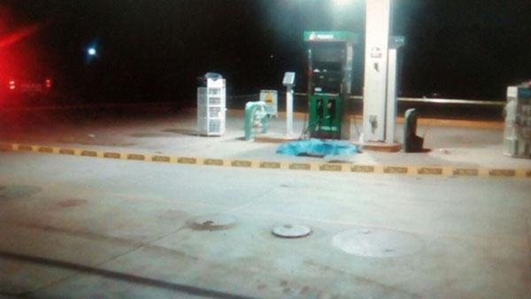 Matan a un despachador de gasolina por supuesto robo