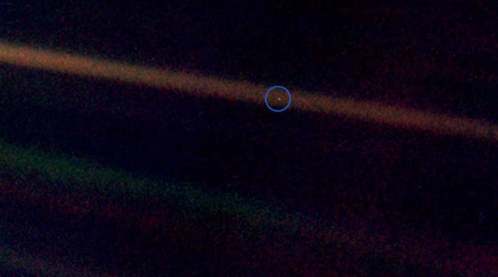 Nave espacial toma la fotografía más lejana hecha desde la Tierra