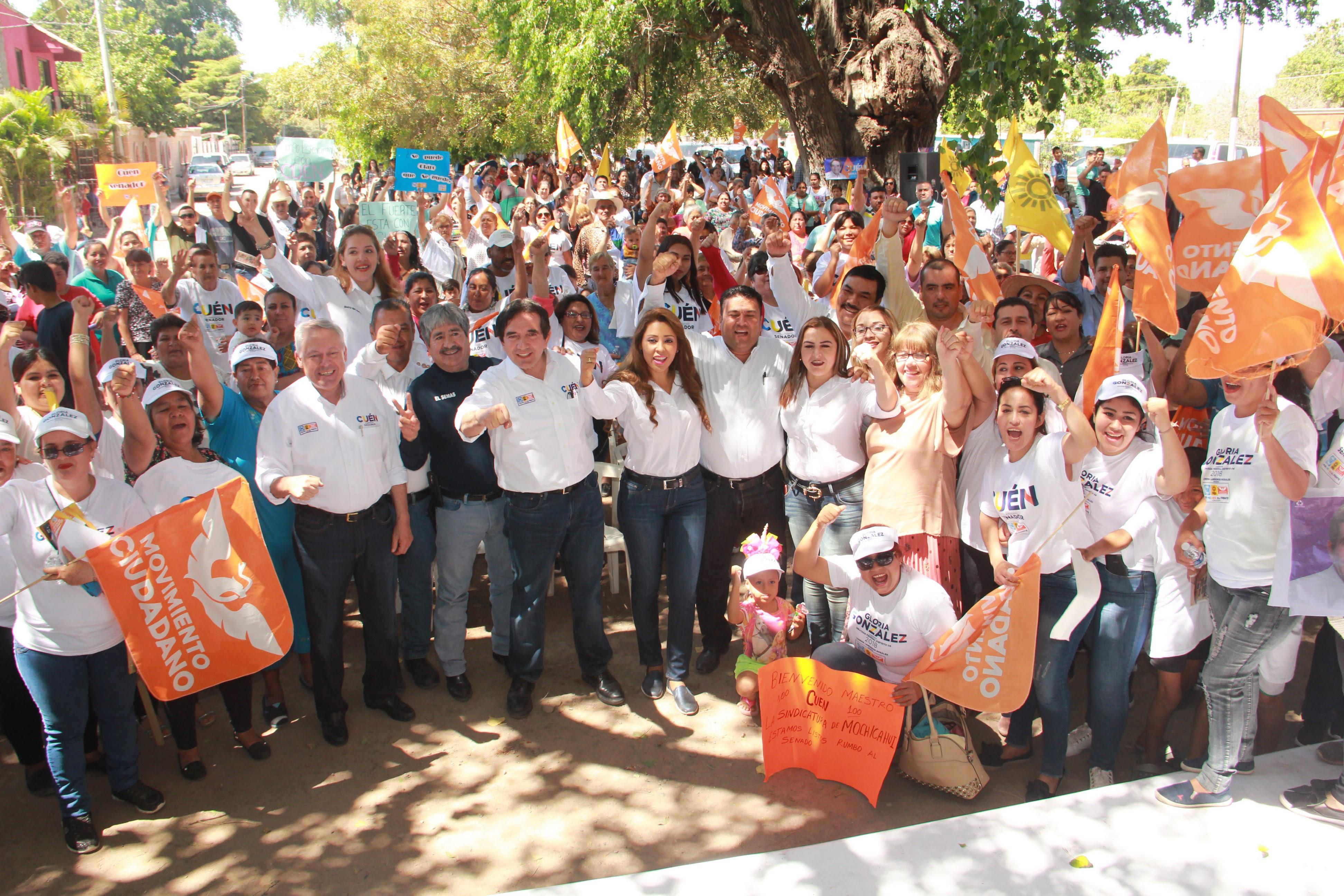 Héctor Melesio Cuén Ojeda realiza gira de trabajo por el municipio de El Fuerte