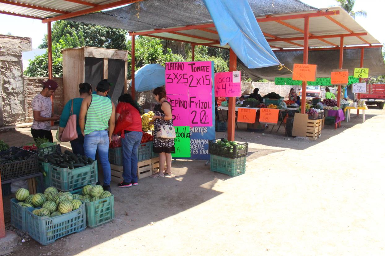 Nuevo mercado de frutas y verduras en Navolato