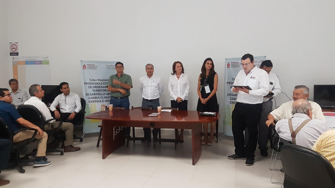 Se trabajarán de manera integral las políticas de desarrollo urbano, ordenamiento territorial, ecológico, cambio climático, vivienda, agua y energía en Sinaloa