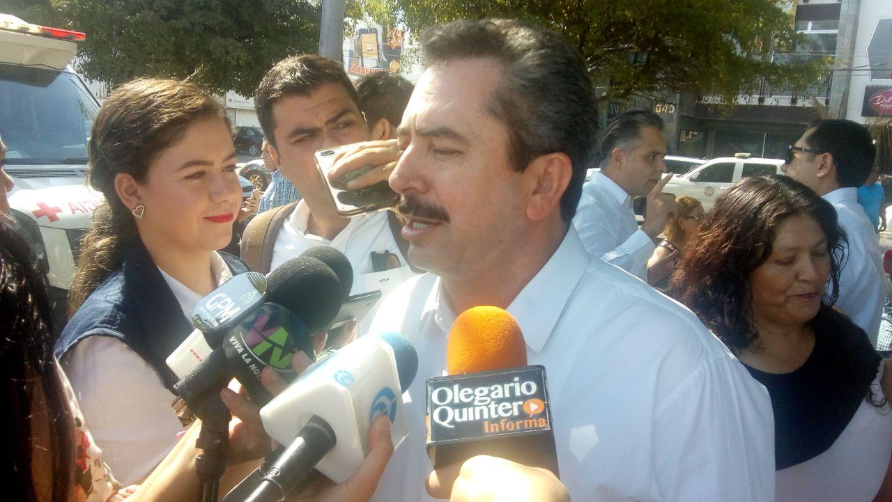 Aarón Rivas dispuesto a actualizar su declaración 3 de 3