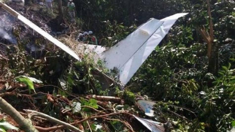 Avioneta con droga cayó en Chiapas; hay dos muertos