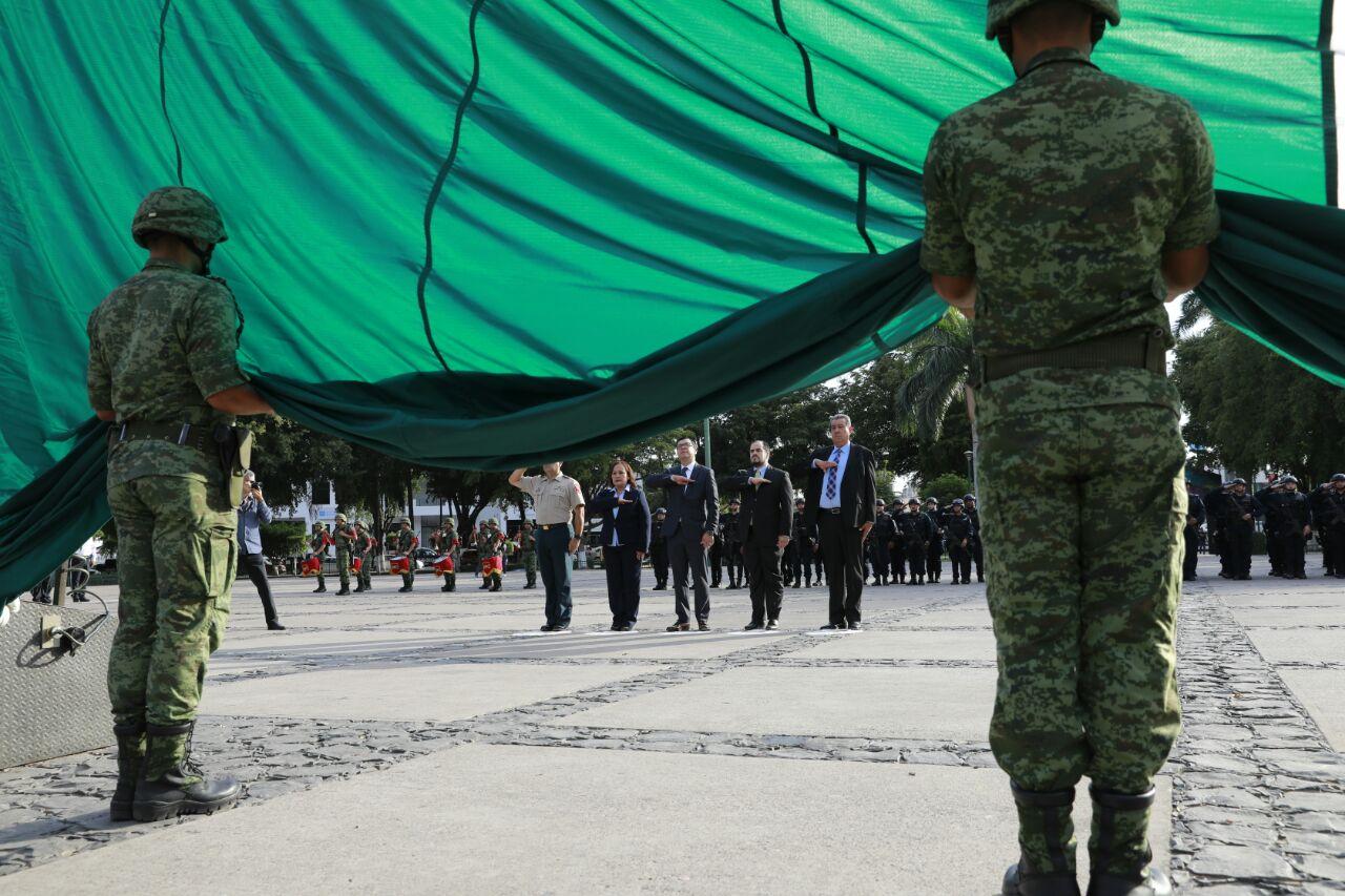 Conmemoran el 265 Aniversario del Natalicio de Don Miguel Hidalgo