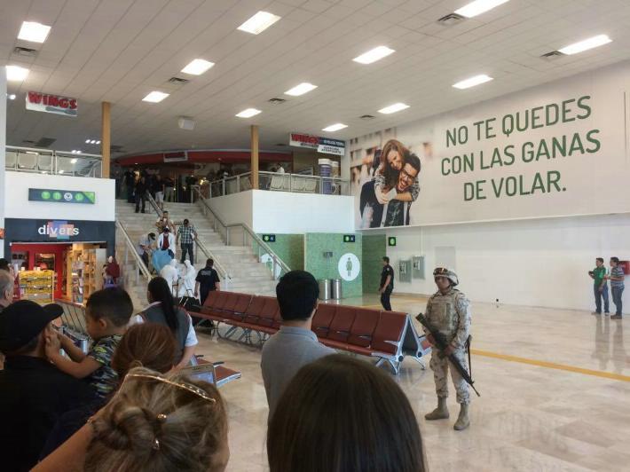 Descartan que policía federal haya disparado a persona en aeropuerto de Hermosillo