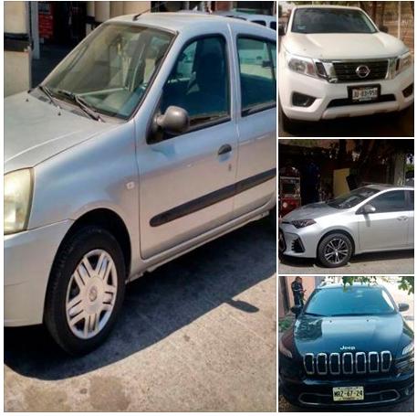 En sólo una semana, la SSPyTM recupera 26 vehículos que habían sido robados
