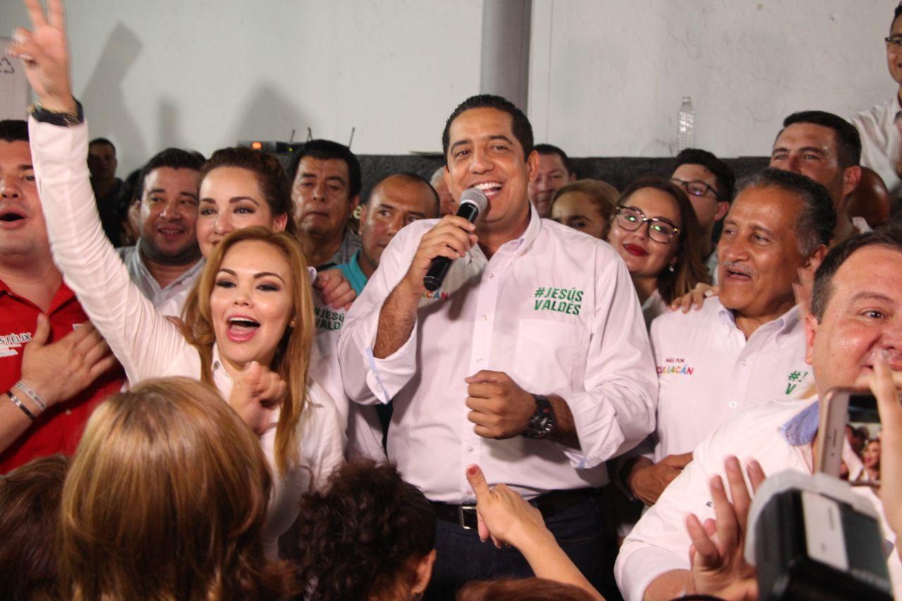 Jesús Valdés inicia su campaña como candidato a presidente municipal de Culiacán
