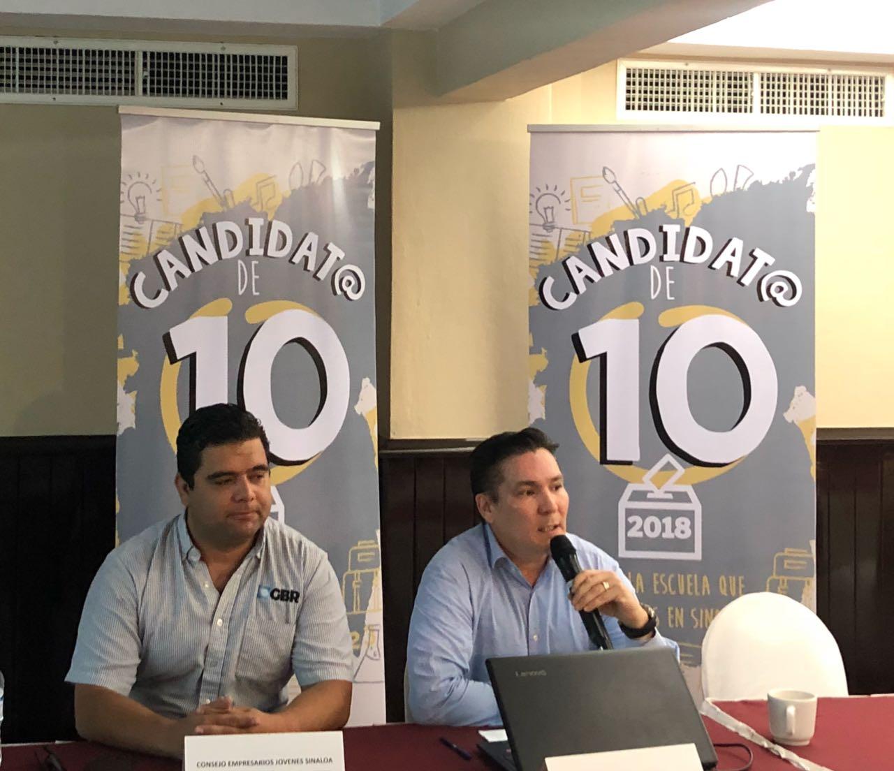 Los candidatos locales ya pueden ser candidat@ de 10.