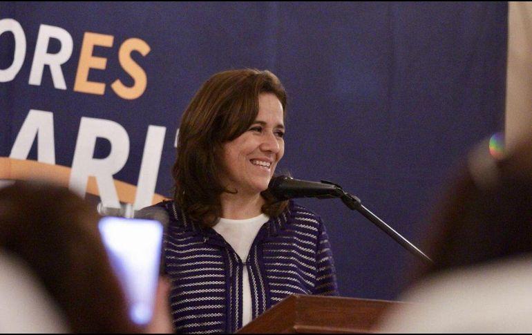 Margarita Zavala presume en redes apoyo panista