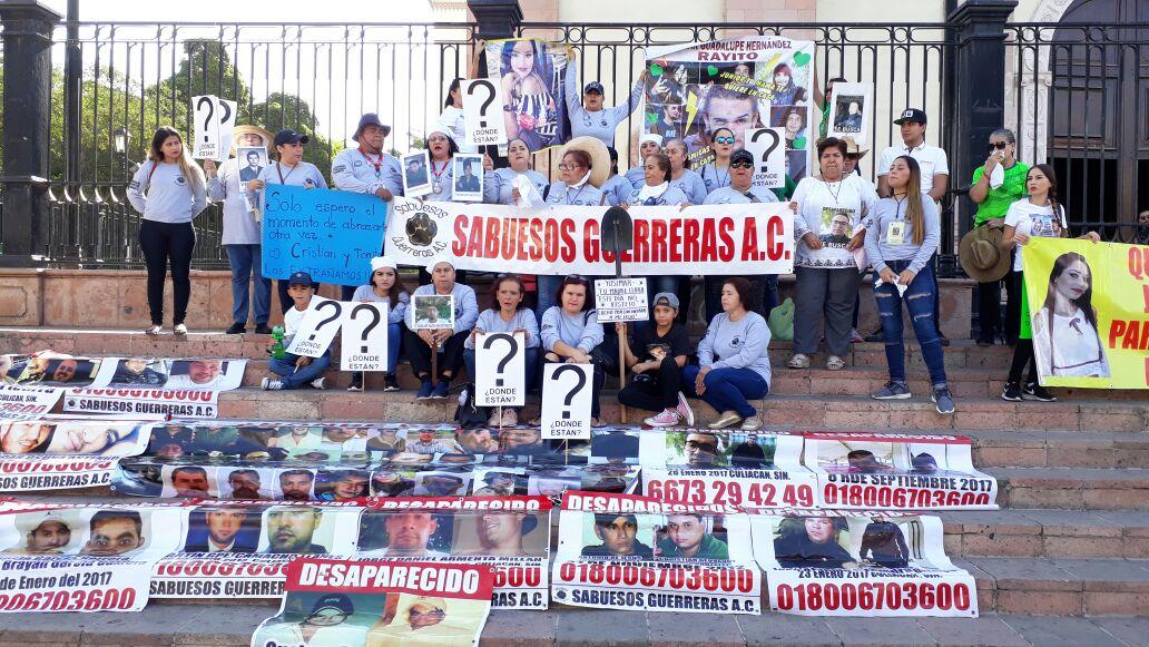 Nada que celebrar este 10 de mayo dicen madres con hijos desaparecidos