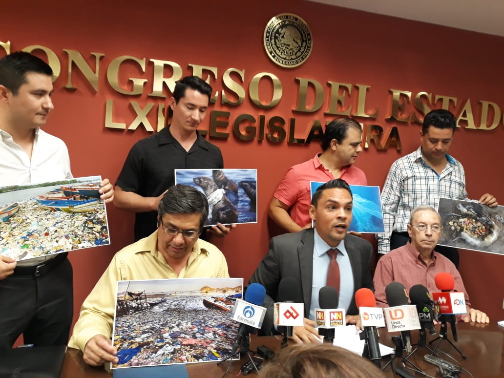 Presentan iniciativa para prohibir el uso de bolsas de plástico
