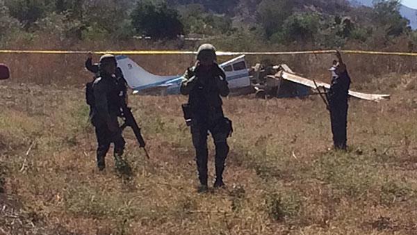 Se estrella una avioneta en la sindicatura de Imala; mueren dos personas
