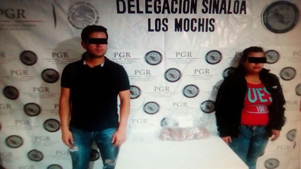 Detienen a tres personas con droga sintética