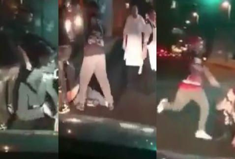 Golpean brutalmente a pareja, la mujer queda inconsciente