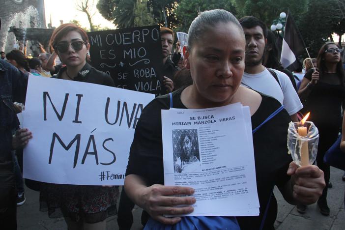 Reconoce Quirino que los trabajos son insuficientes contra feminicidios