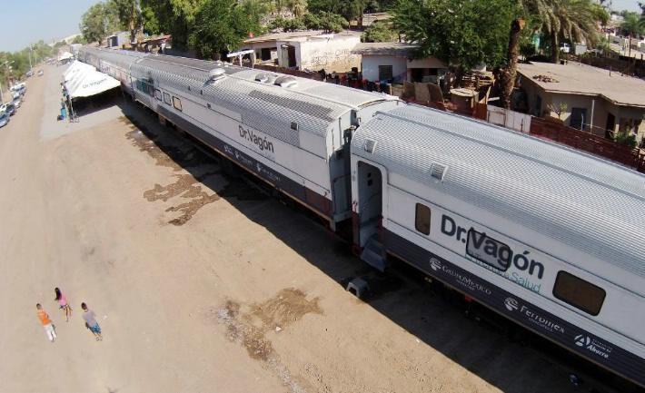 "Arriba el programa ""Dr. Vagón, tren de salud"" a la capital sinaloense"