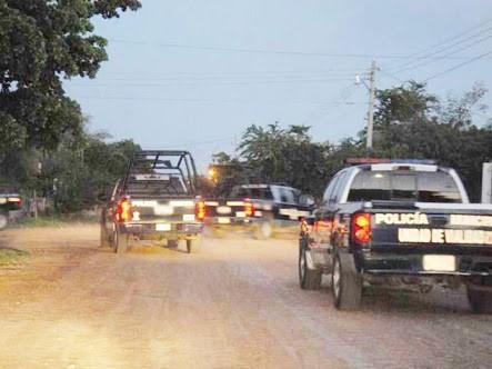 Decomisan dos camionetas baleadas de una supuesta privación de la libertad